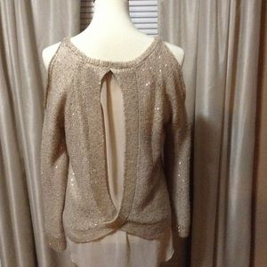 Jessica Simpson sequin sweater